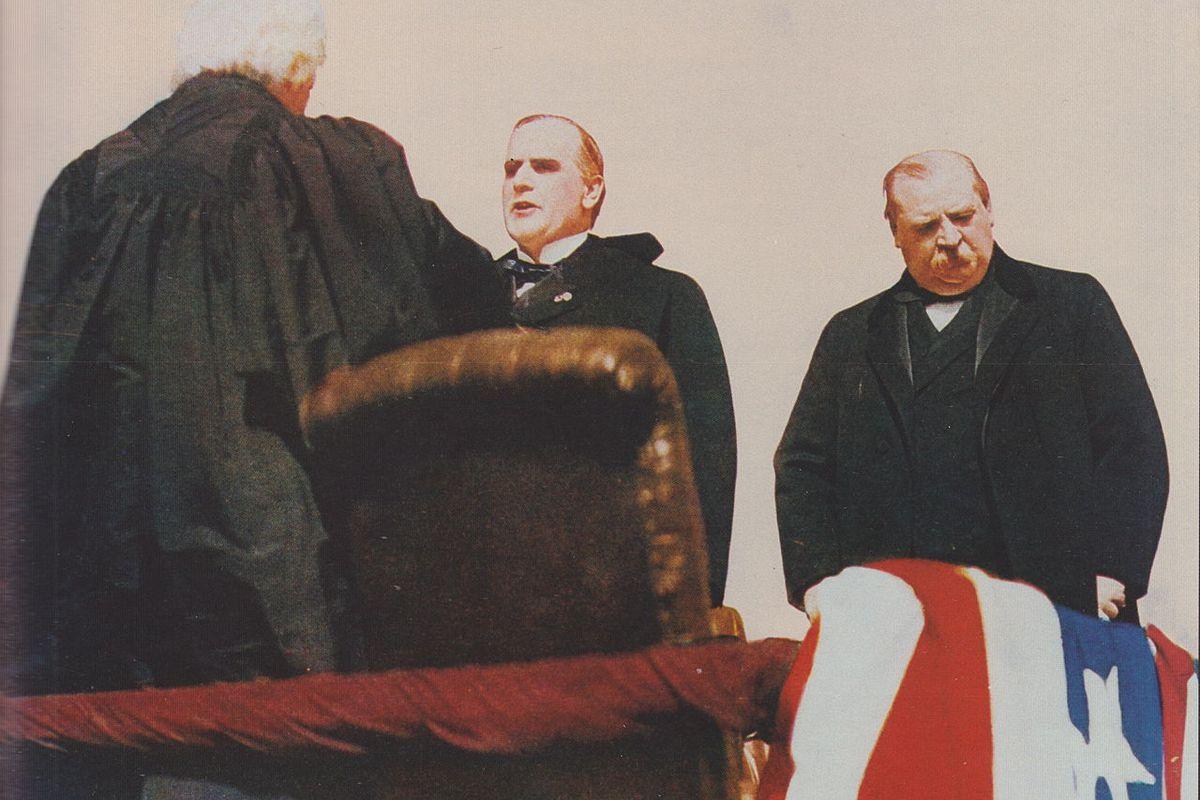 The inauguration of William McKinley