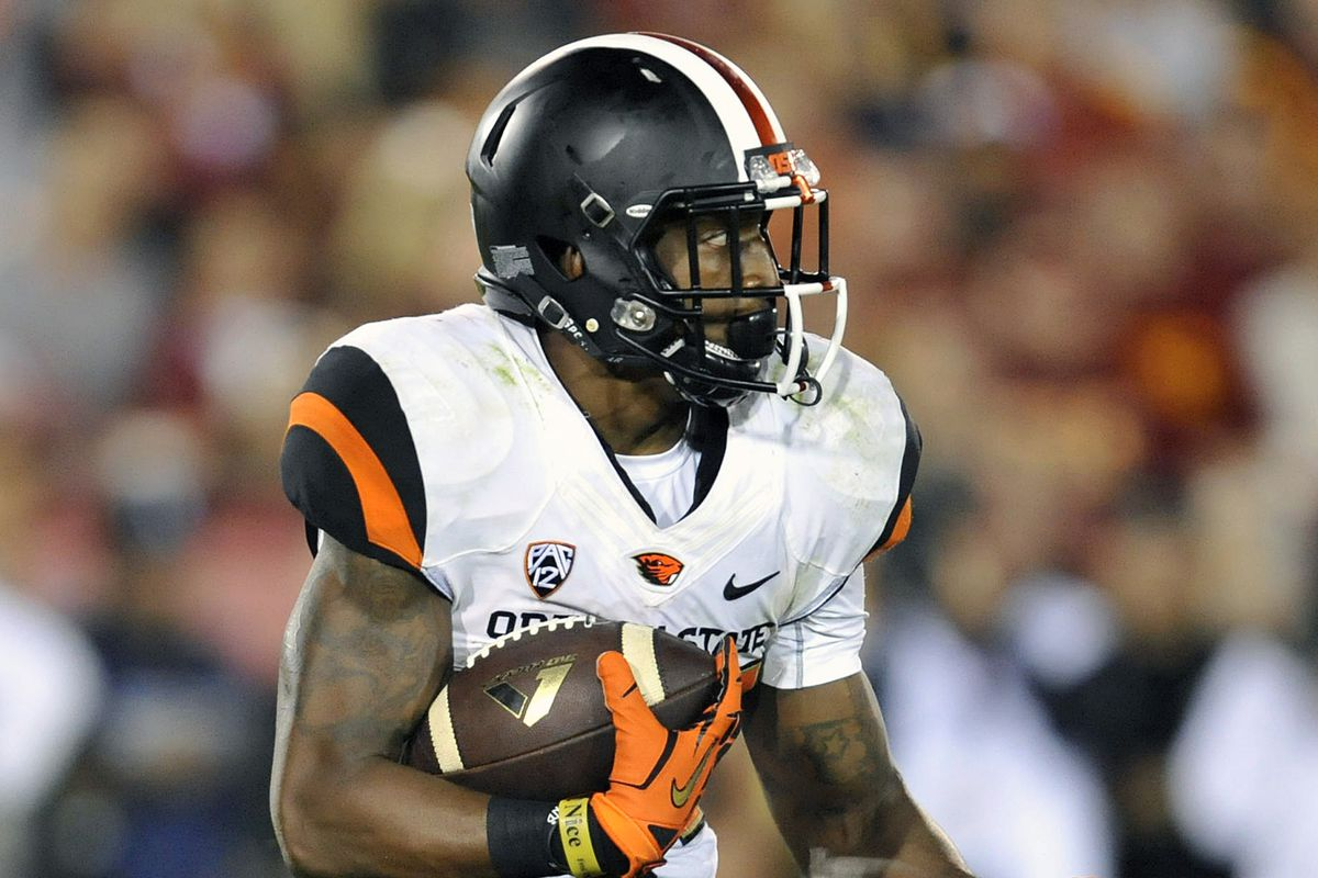 Storm Woods is averaging 5.9 yards/carry this year. If only he could get the ball more.
