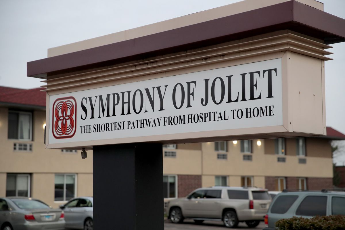 In April, a coronavirus outbreak killed 24 residents and two employees of the Symphony of Joliet nursing home.