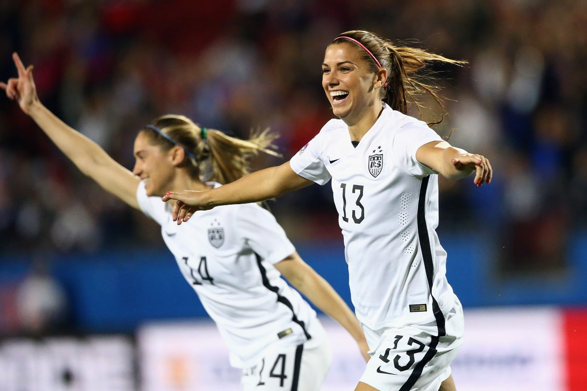 Alex Morgan is arguably the most recognizable Calympian in Rio.