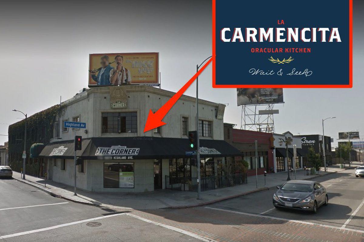 La Carmencita, Hollywood