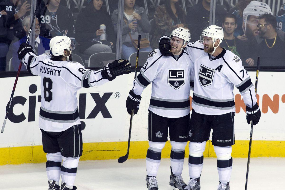 NHL: Los Angeles Kings at San Jose Sharks