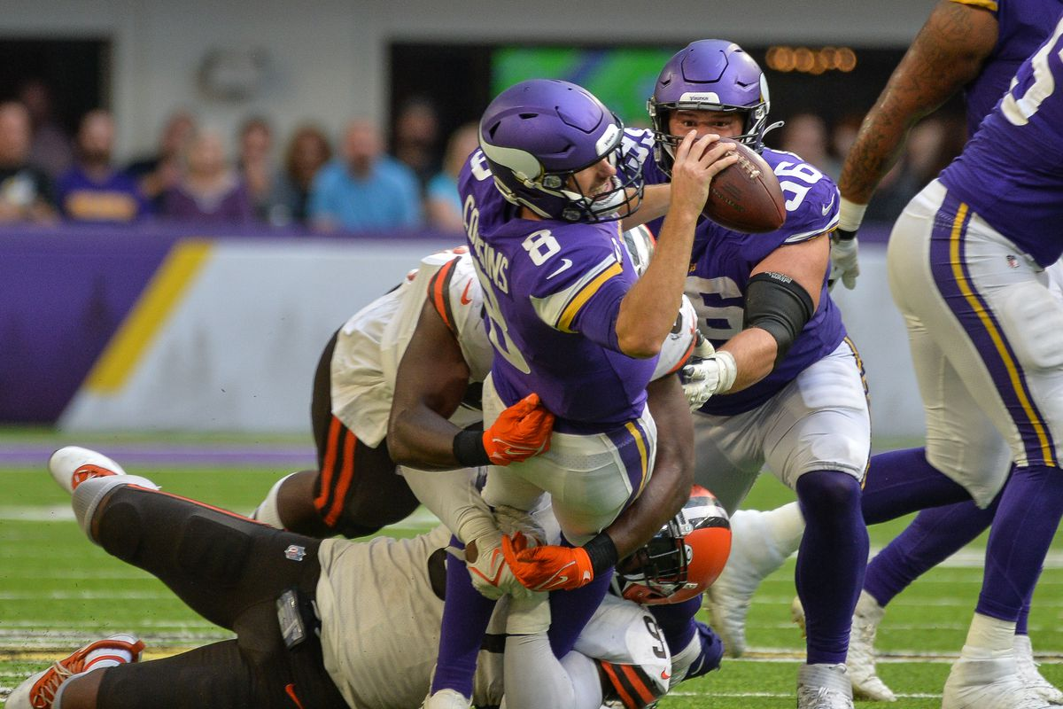NFL: Cleveland Browns at Minnesota Vikings