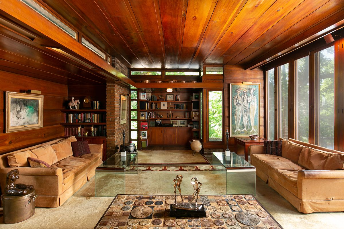 Well Preserved Frank Lloyd Wright Usonian Heads To Auction Curbed