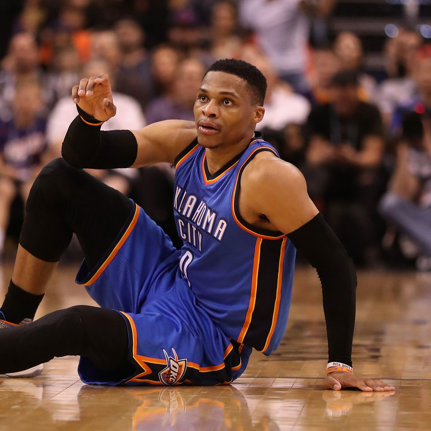 c54339a2b926 NBA scores 2017  Russell Westbrook can t force history - SBNation.com