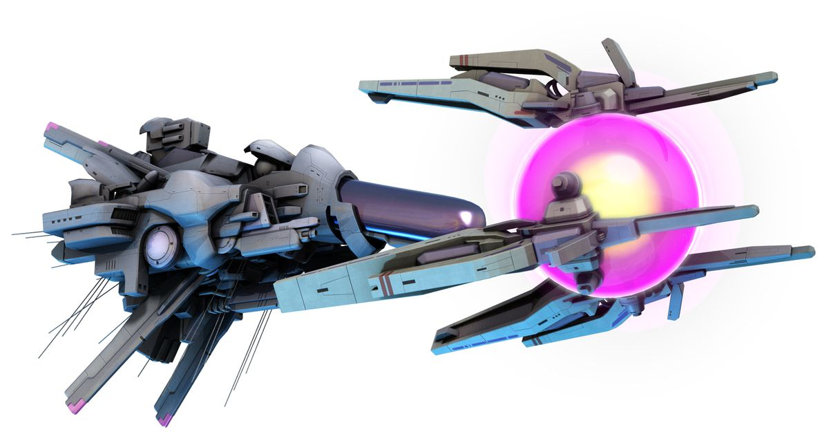 a render of a spaceship in R-Type Final 2