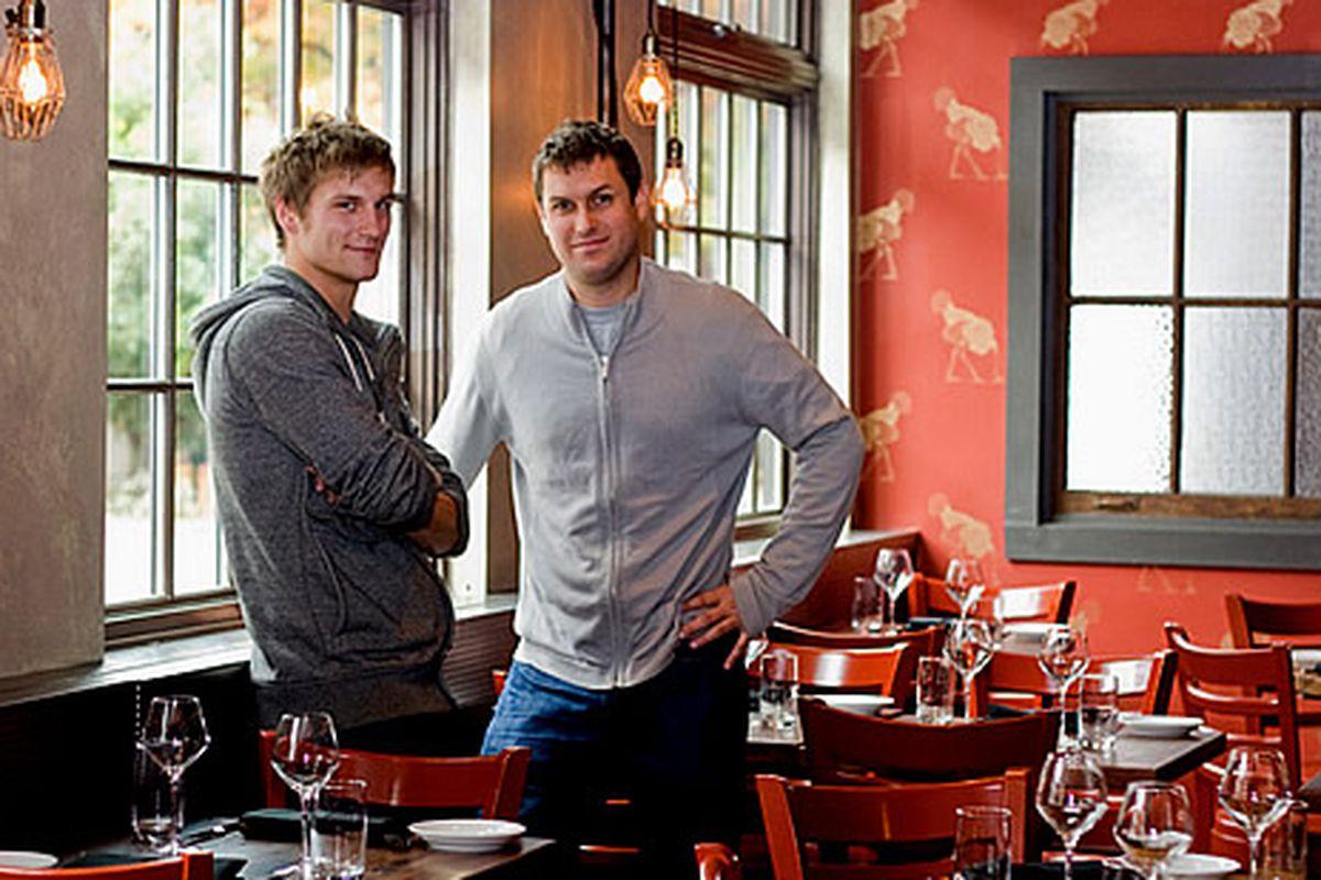 Jason Cichonski and Chip Roman at Ela