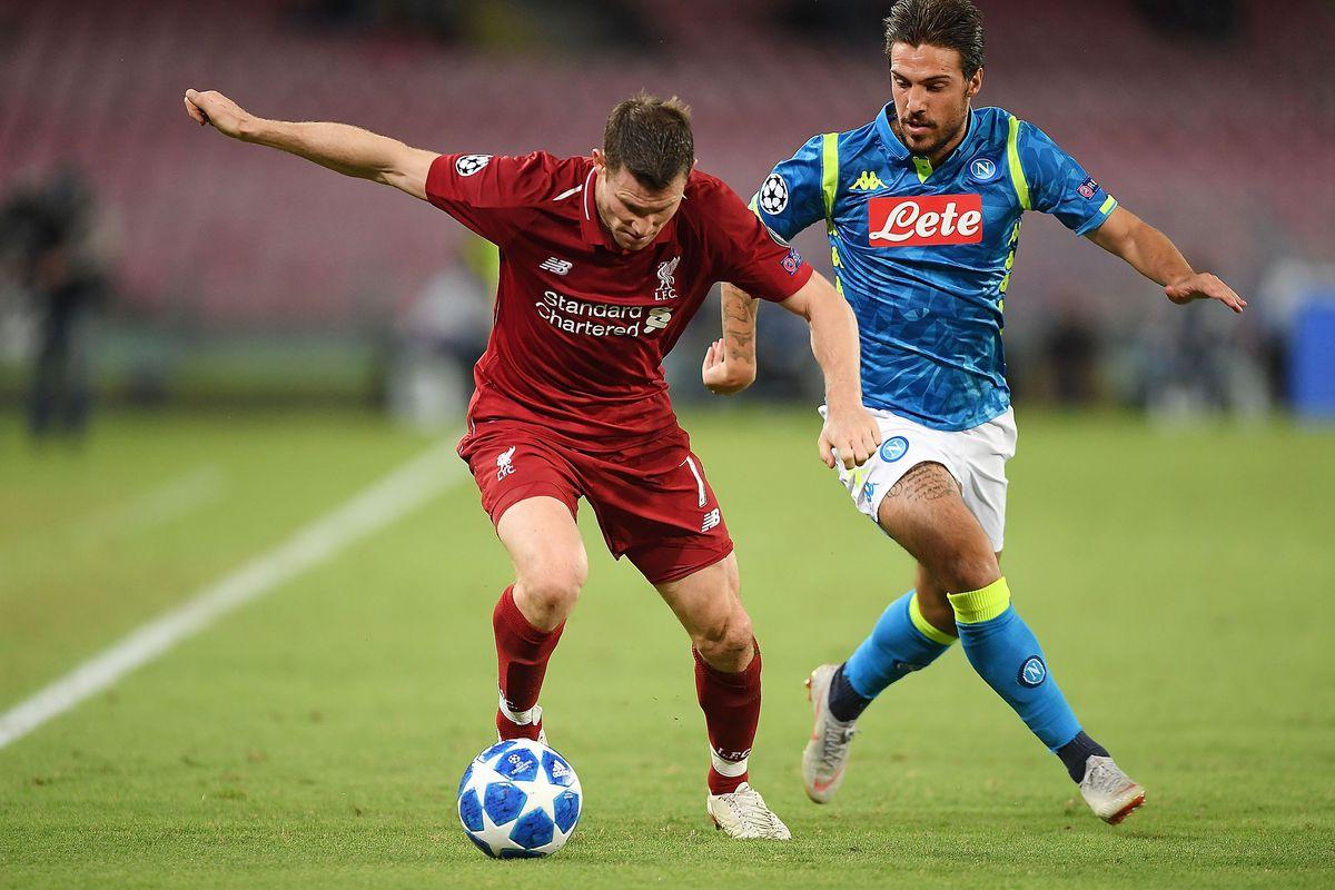 Liverpool Vs Napoli Champions League Facts U0026 Stats The