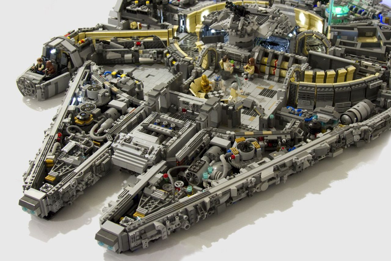 There's an incredible amount of detail in this 10,000 ...