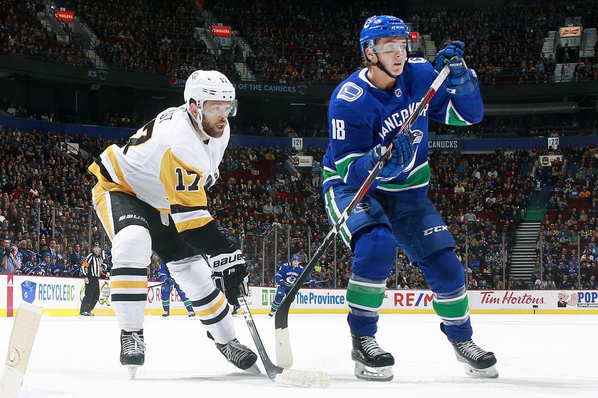 Pittsburgh Penguins v Vancouver Canucks