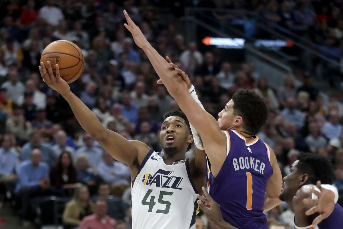 Jazz mailbag: Mitchell vs. Booker, Gobert vs. Davis arguments overplayed