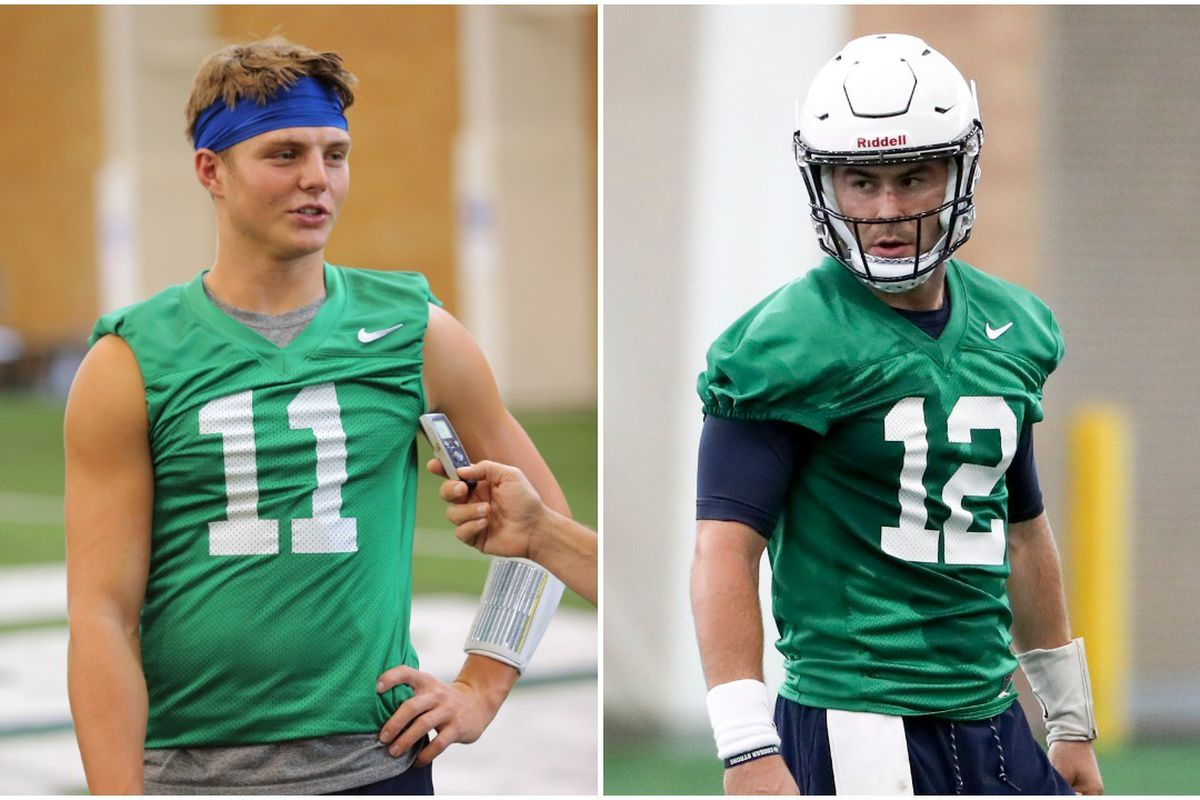 Zach Wilson and Tanner Mangum are the finalist for the BYU starting quarterback job.