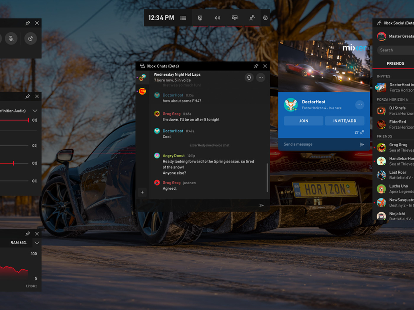 Microsoft brings Spotify and useful widgets to its Xbox Game Bar on Windows  10 - The Verge