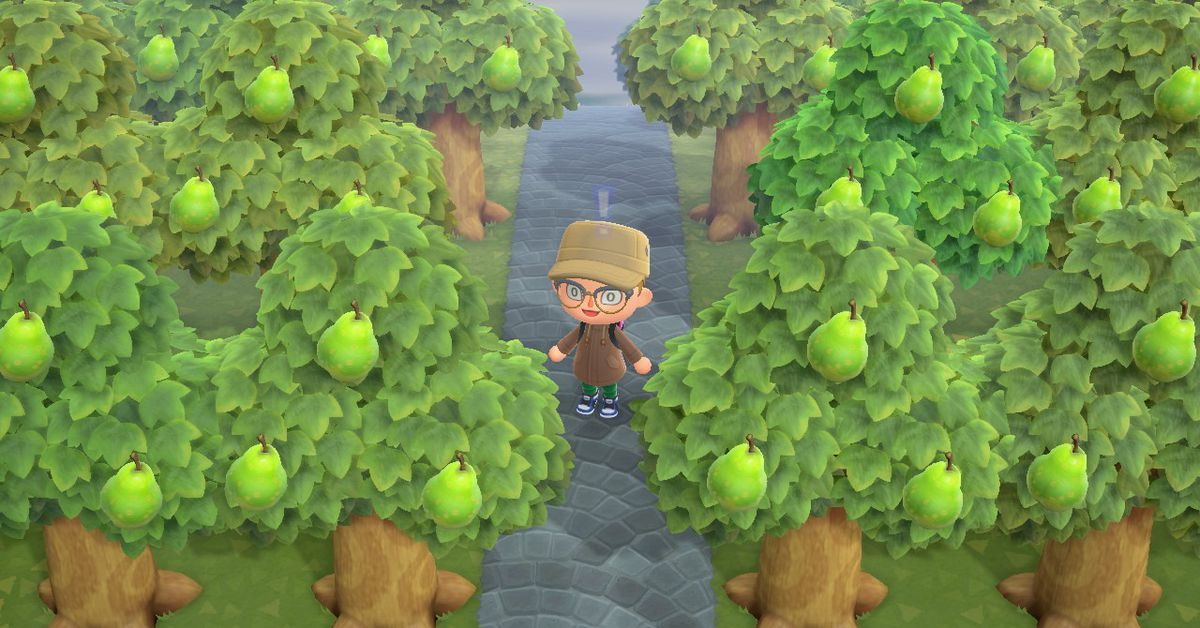 Animal Crossing: New Horizons fans form pear gang to fight fruit hatred - Polygon