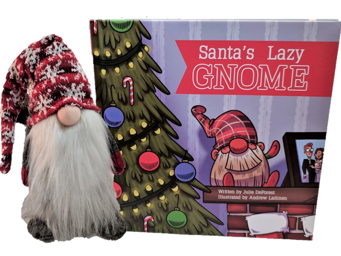 'Santa's Lazy Gnome' Is Here To Keep Your Kids In Check With Zero Effort