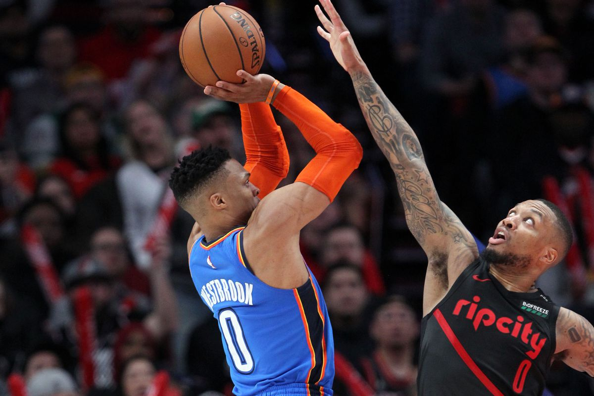 Image result for blazers thunder usa today