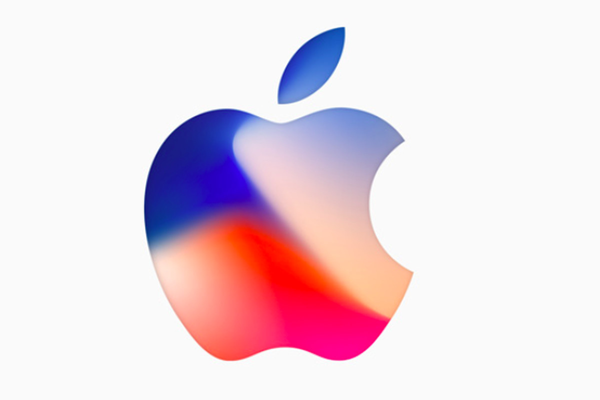 Apple logo for iPhone X event