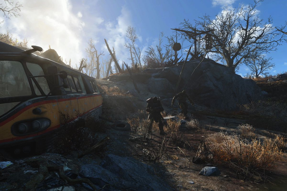 fallout 4 s first major patch arrives on pc ps4 and xbox one