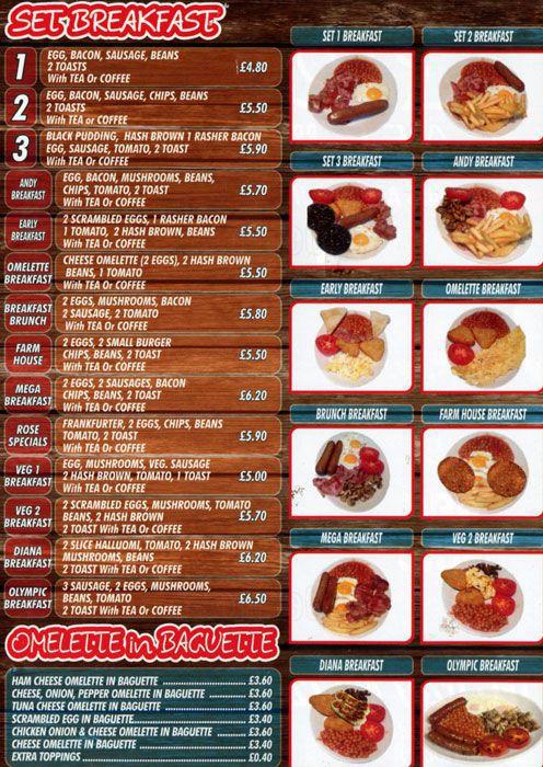 Justin Bieber and Hailey Baldwin had breakfast breakfast & breakfast menu at Rose's Hampstead Cafe in London
