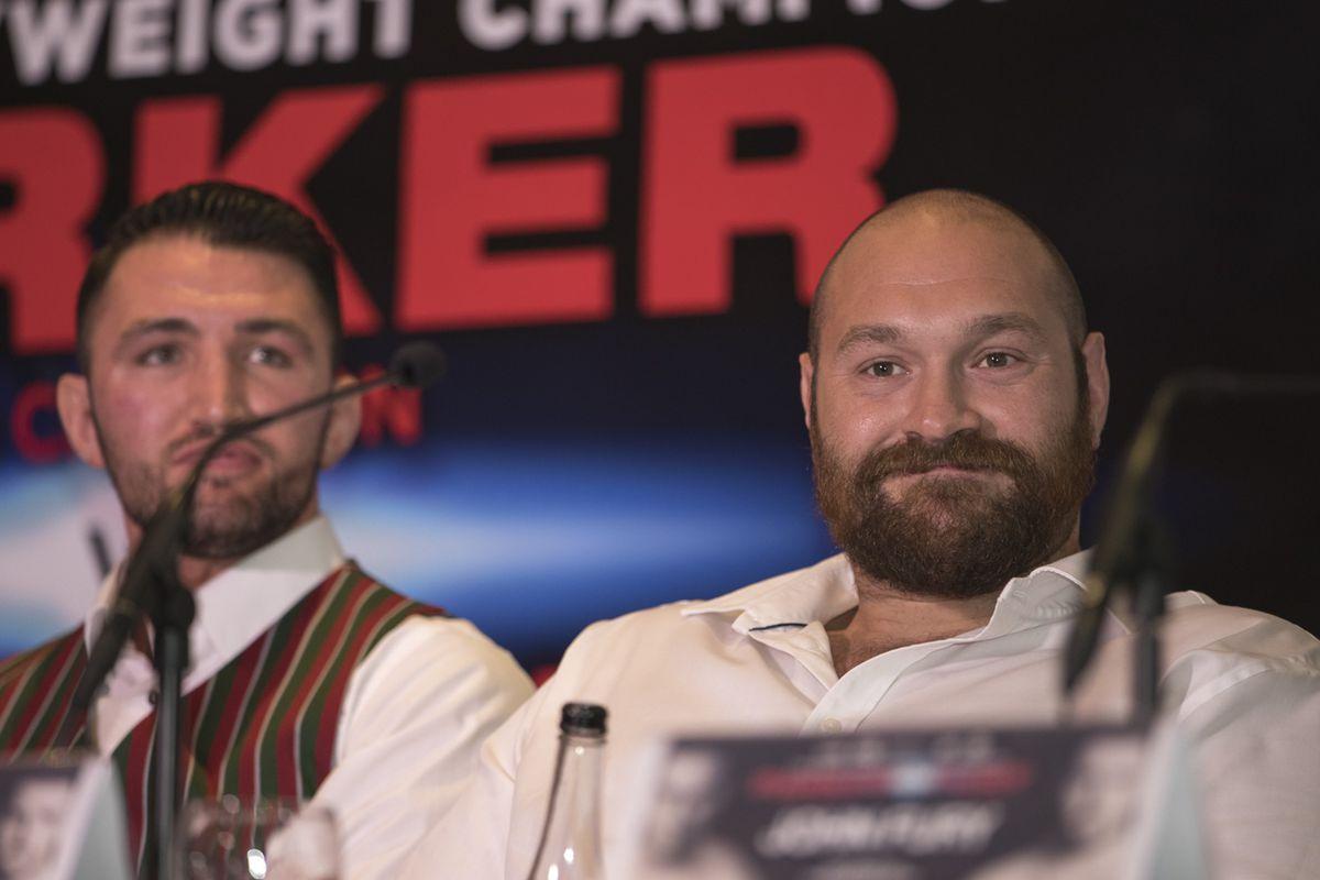 2017 WBO World Heavyweight Title Press Conference Joseph Parker v Hughie Fury Jul 11th