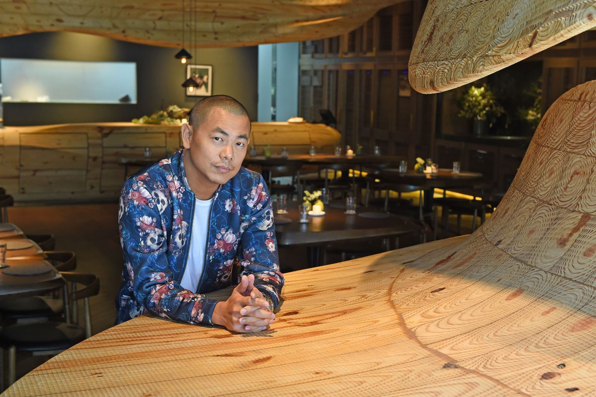 André Chiang at his Taipei restaurant Raw