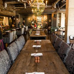The dining room at Culinary Dropout. Photo by Erik Kabik