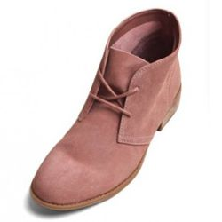 """Dolce Vita desert boot, $75, at <a href=""""http://www.dolcevita.com/DV-by-Dolce-Vita/Bobbie-Suede-Lace-Up-Booties/PAOIACJGGGAPDGJD/3016-3022/Product"""" rel=""""nofollow"""">Dolce Vita</a>"""