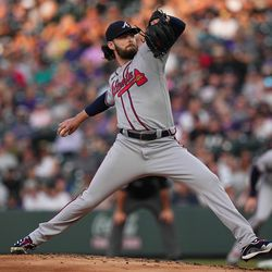 Ian Anderson, Braves starting pitcher on Friday
