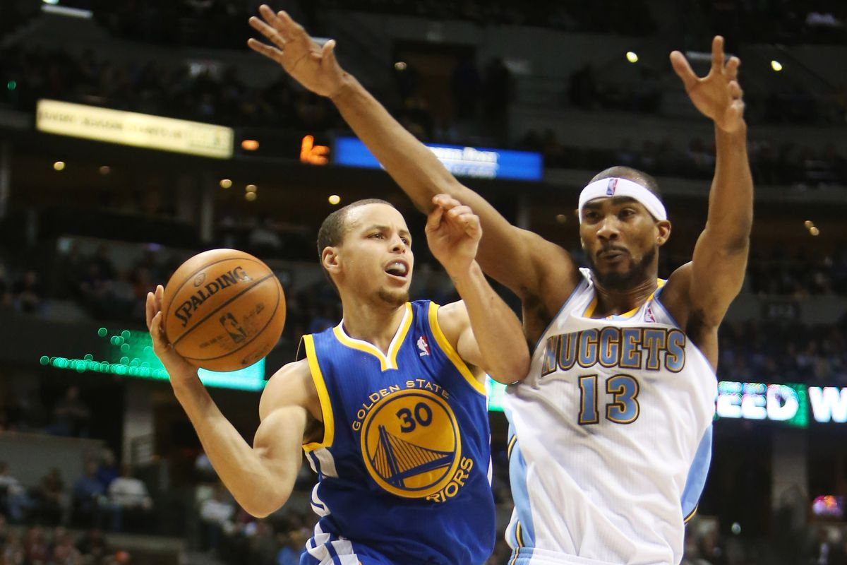 Corey Brewer and the Nuggets put the clamps down.