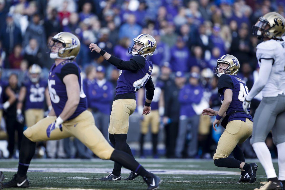NCAA Football: Colorado at Washington