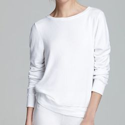 """<strong>Wildfox Couture</strong> Sweatshirt in White, <a href=""""http://www1.bloomingdales.com/shop/product/wildfox-sweatshirt-pullover?ID=787873&CategoryID=2911#fn%3Dspp%3D2"""">$98</a> at Bloomingdale's"""