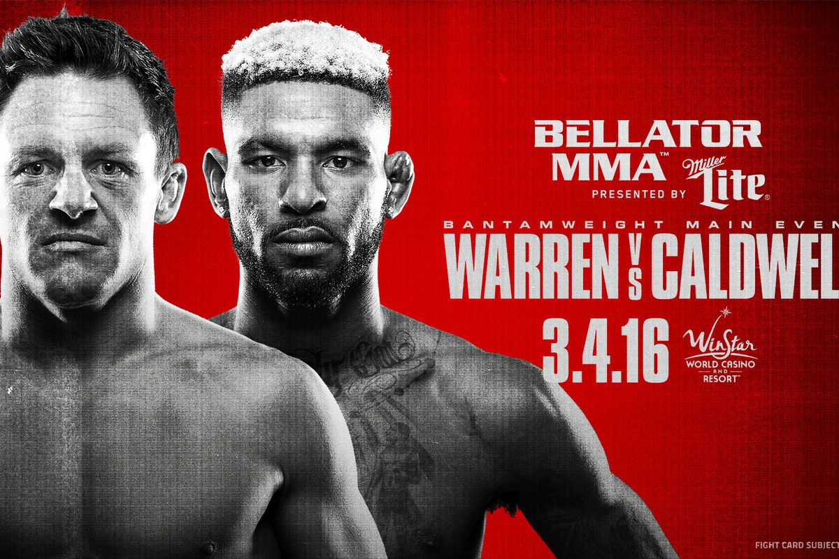 Bellator 151 Warren vs Caldwell live results streaming video