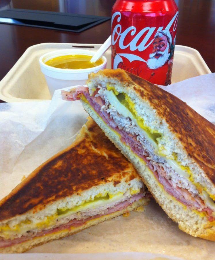 Cuban sandwich from Cafe Ybor