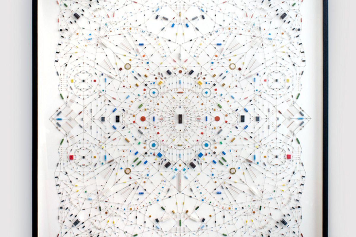 Leonardo Ulian's mandalas meld spirituality and technology