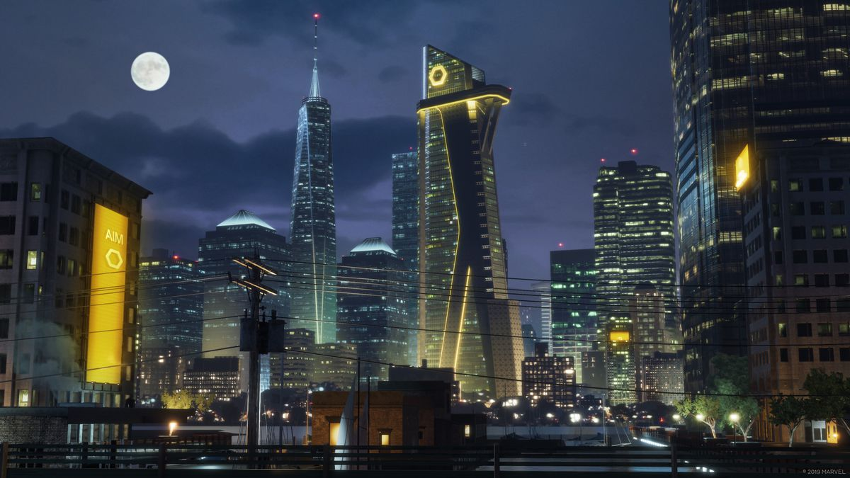 The A.I.M. building in Marvel's Avengers is home to its villains.