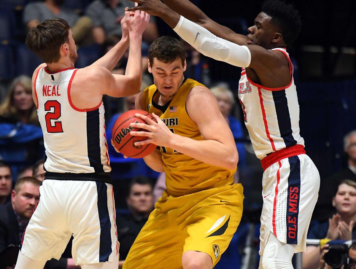 NCAA Basketball: SEC Tournament-Mississippi vs Missouri