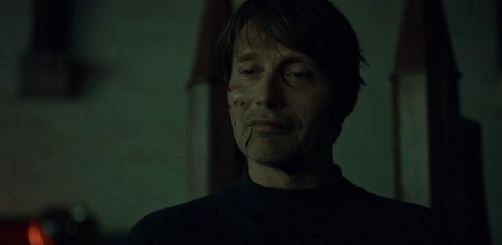 Hannibal smirks.