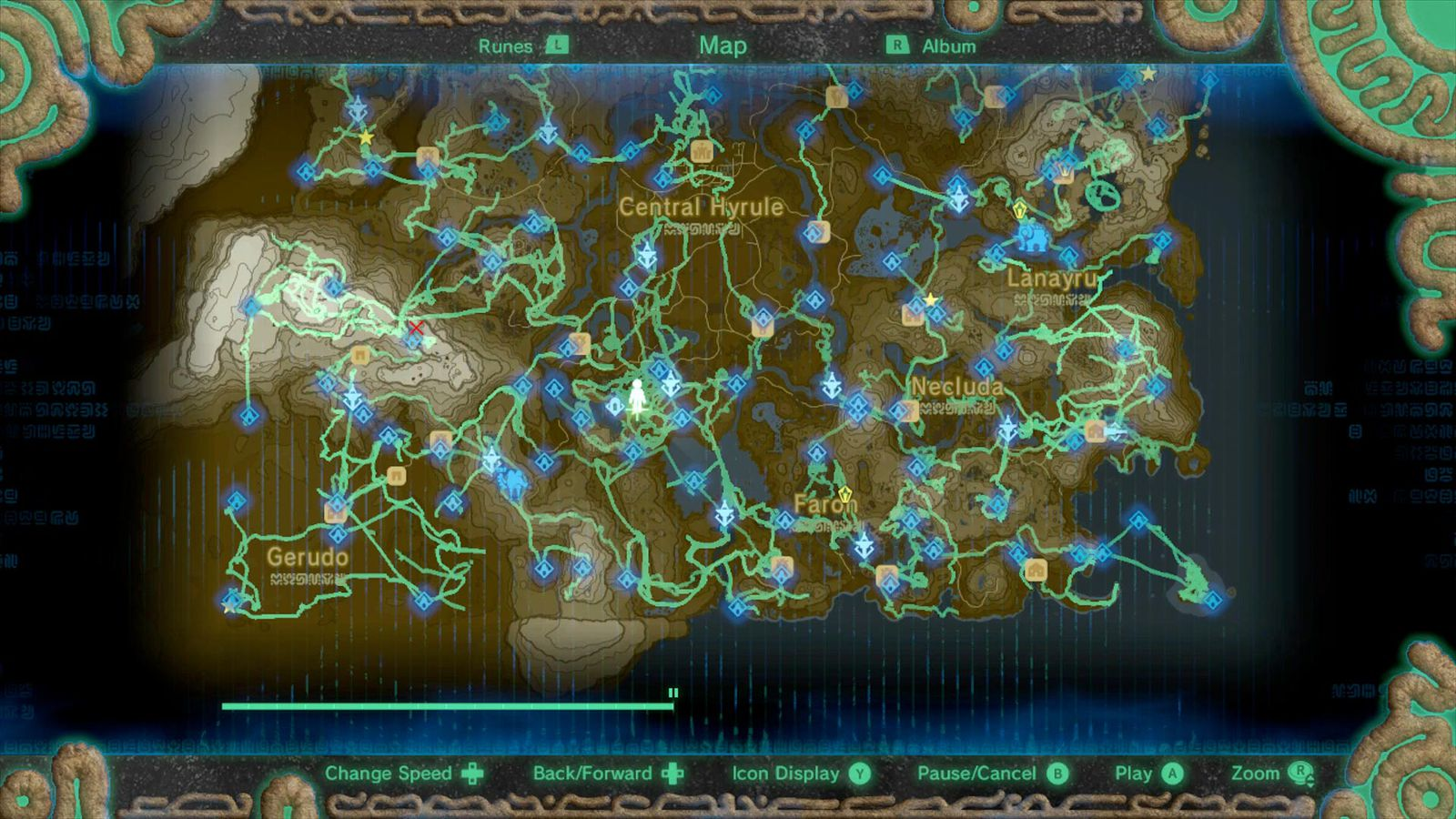 Zelda breath of the wild guide how to use the heros path polygon sciox Gallery