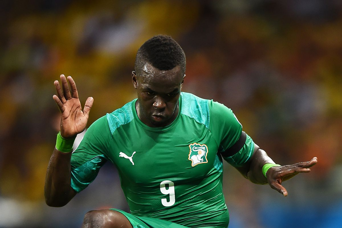 Tiote's World Cup is done after Ivory Coast's 2-1 loss.