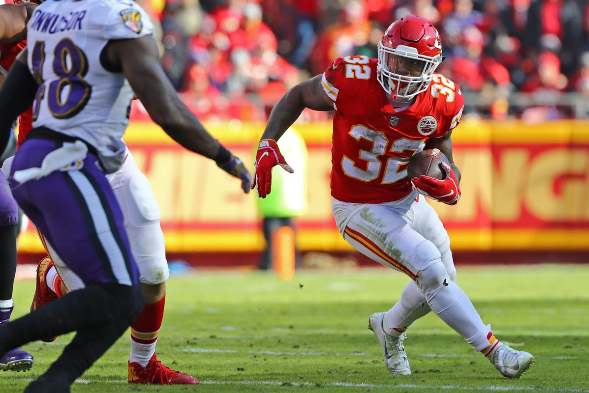 Former Chiefs Running Back Spencer Ware Visits With Colts