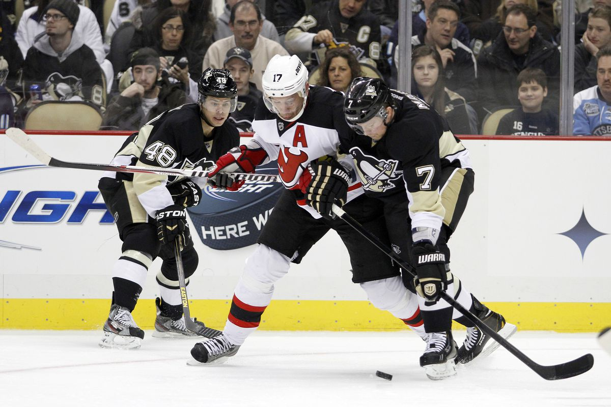 Will the New Jersey Devils have an easier time today against the Penguins than last week?  Let's hope!