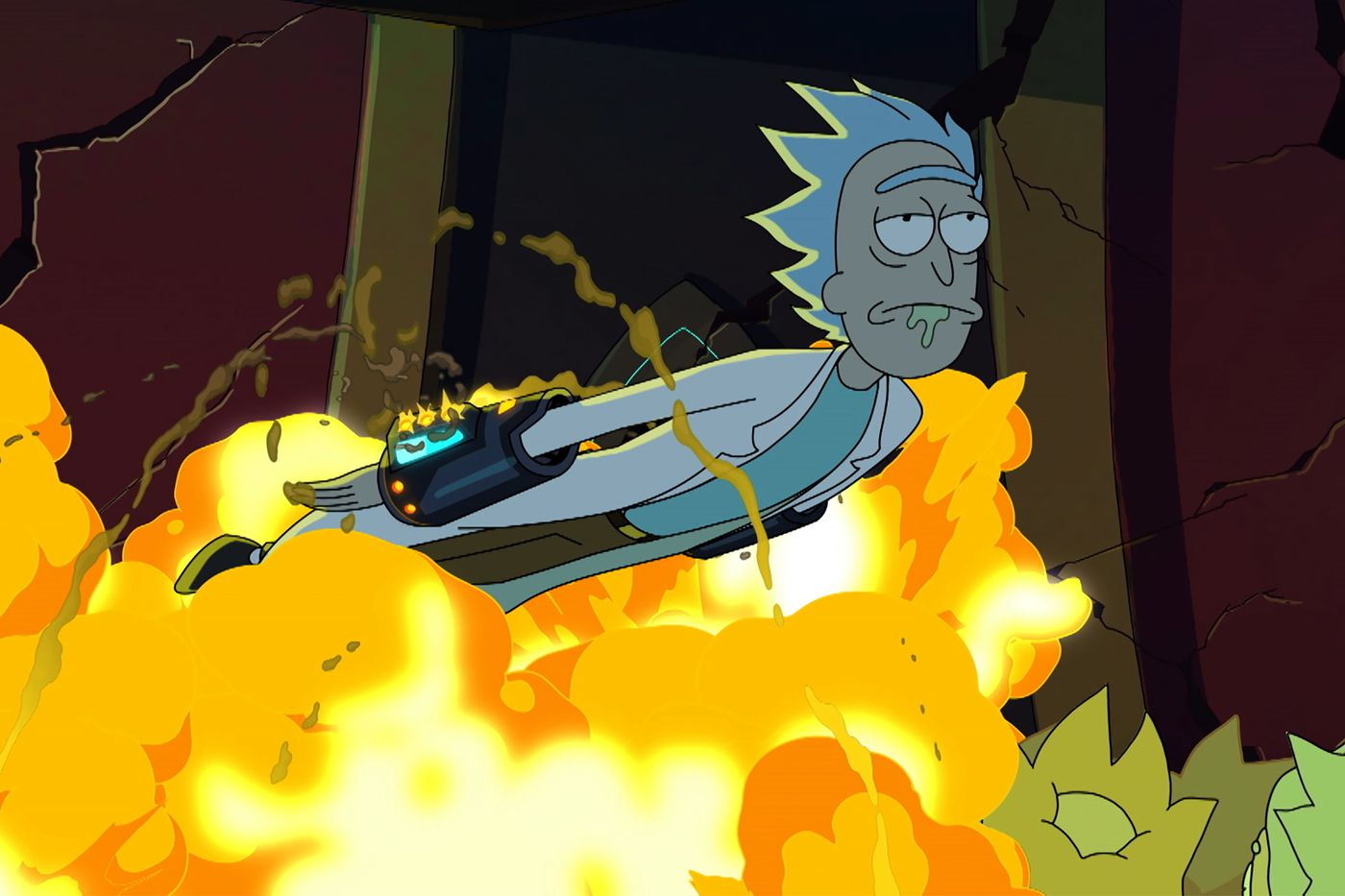 Rick and Morty season 5 finale broke Rick to save the show from burnout -  Polygon
