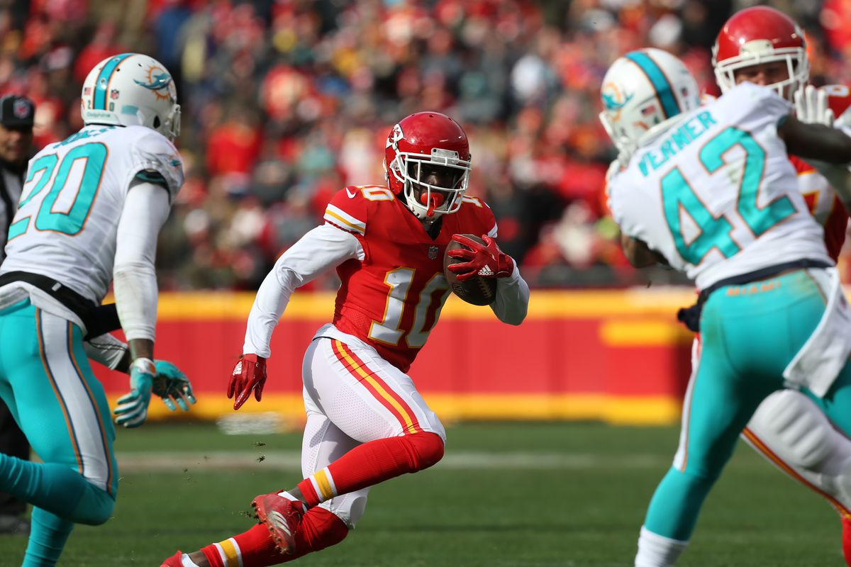 NFL: DEC 24 Dolphins at Chiefs