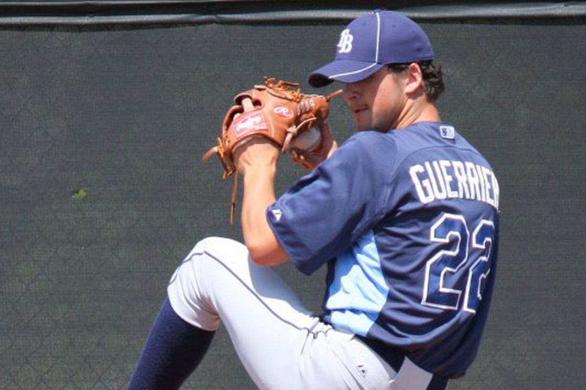 Taylor Guerrieri's three-inning outing may have been a career long