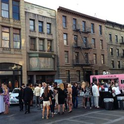Paramount's New York Street backlot looks so real.
