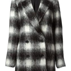 "Theory plaid coat, <a href=""http://www.theory.com/caf%C3%A9-lithe-coat/E0901403,default,pd.html?dwvar_E0901403_color=A05&start=20&cgid=womens-outerwear&Aff=J84DHJLQkR4&siteID=J84DHJLQkR4-CUB8wjdXU.9R3VXiDKbzxA"">$795</a>"