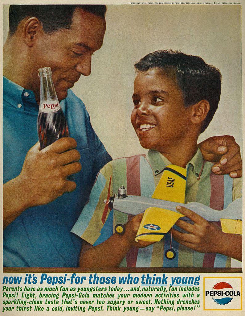 A 1963 Pepsi ad.