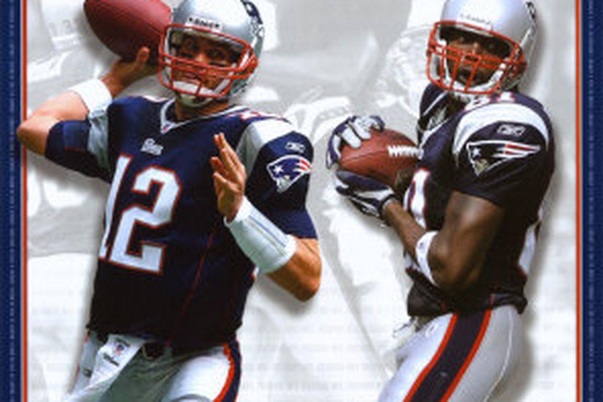 <em>2007 Tom Brady & Randy Moss record setting season.</em>