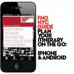 "The FNO app via <a href=""http://www.fashionsnightout.com/#"" rel=""nofollow"">Fashion's Night Out</a>"