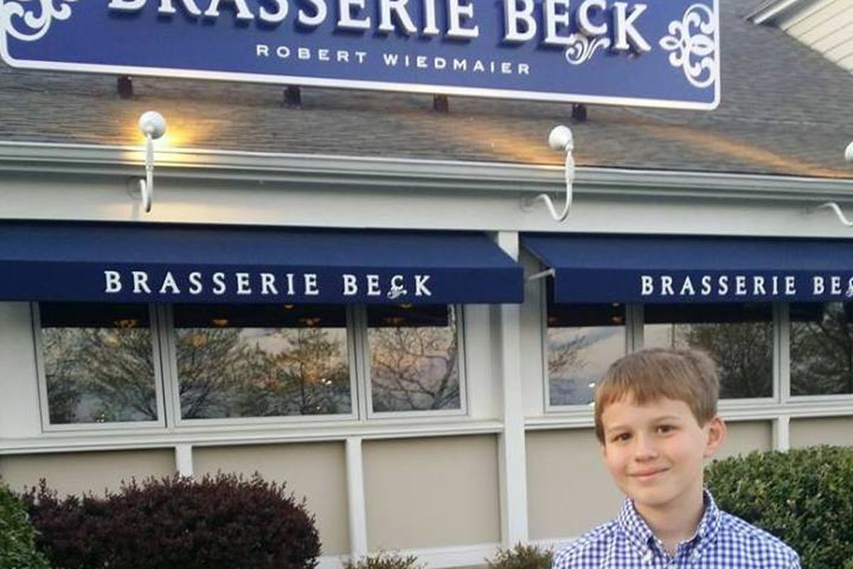 Brasserie Beck Kentlands and its namesake
